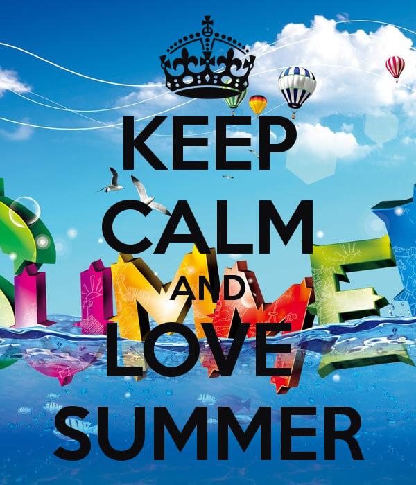 keep calm summer