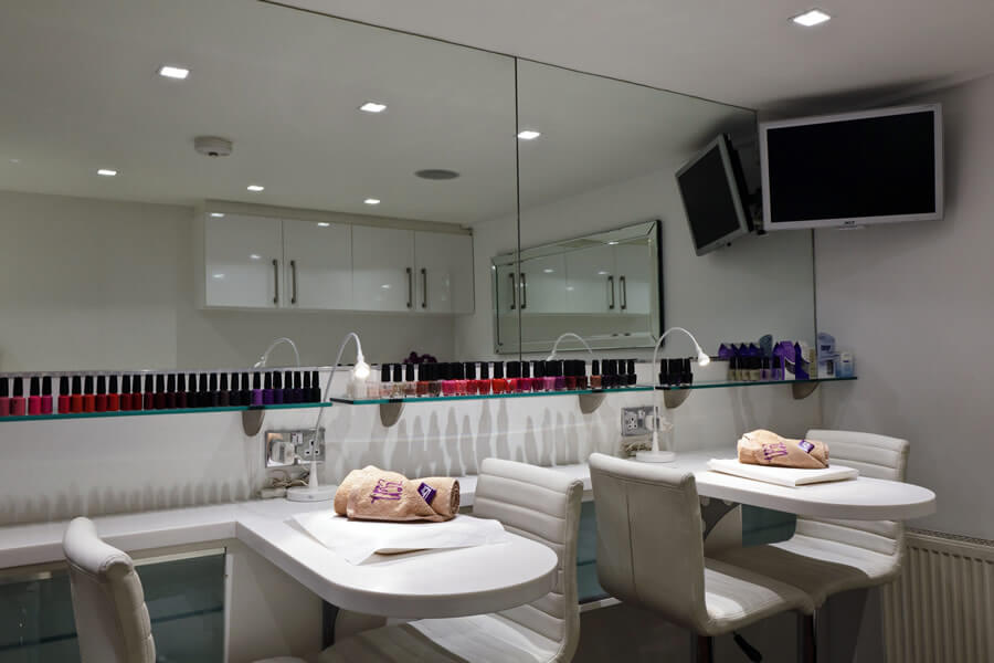 Bruntsfield Salon's Nail Bar