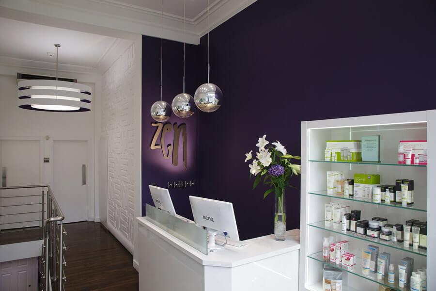 Bruntsfield Salon Reception Area