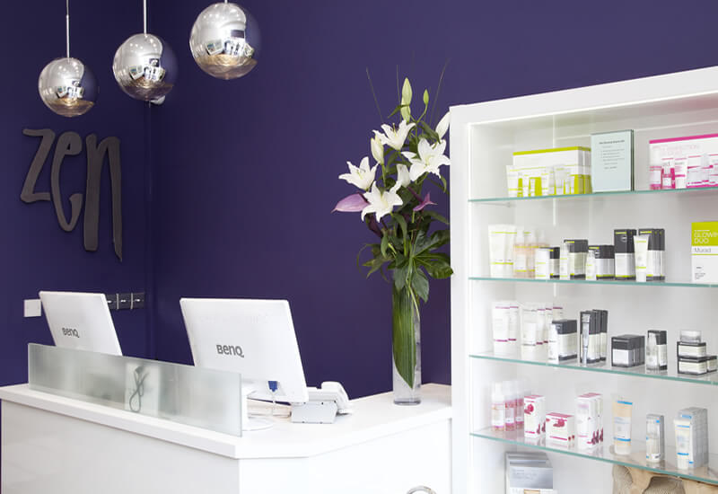Bruntsfield Salon Reception