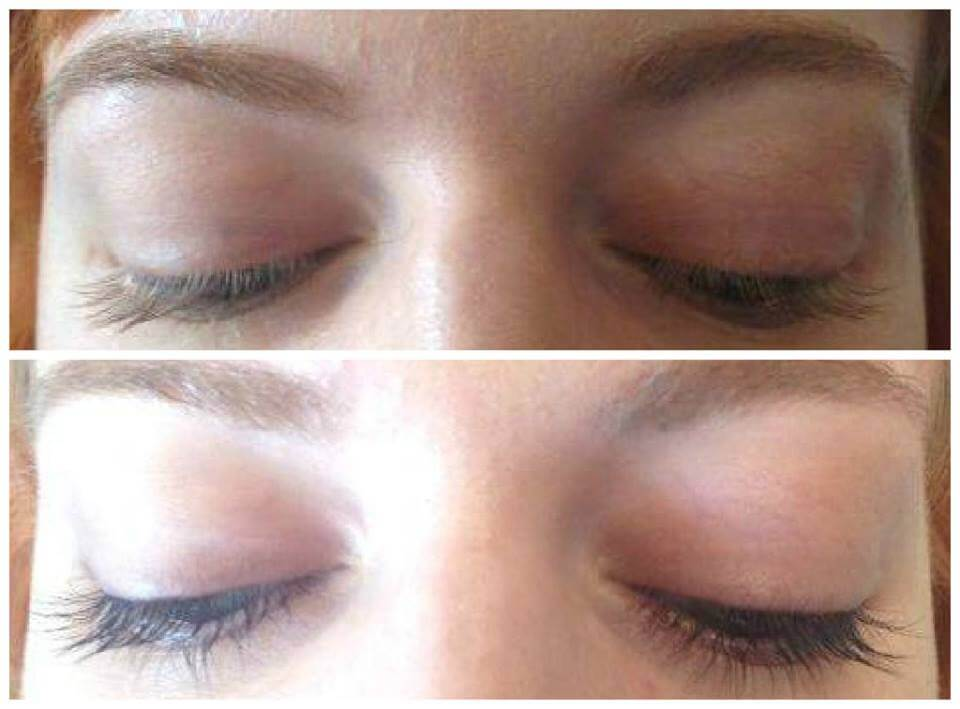 eyelash tinting in edinburgh