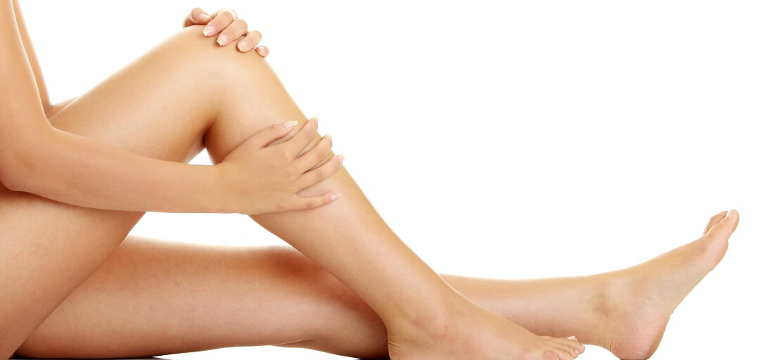 smooth legs after ipl laser hair removal