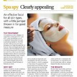 Scotsman Weekend Life Magazine Murad Facial review