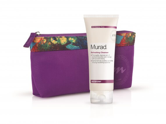 FREE Murad Cleanser + Bag