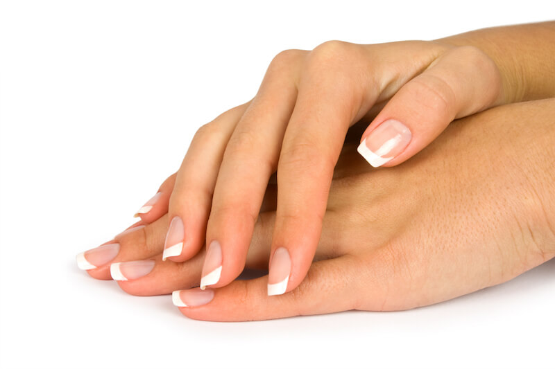 Shellac French Manicure edinburgh