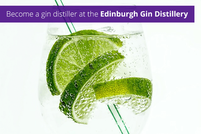 Become a gin distiller at the Edinburgh Gin Distillery
