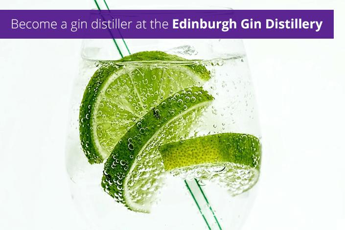 Become a gin distiller at the Edinburgh Gin Distillery