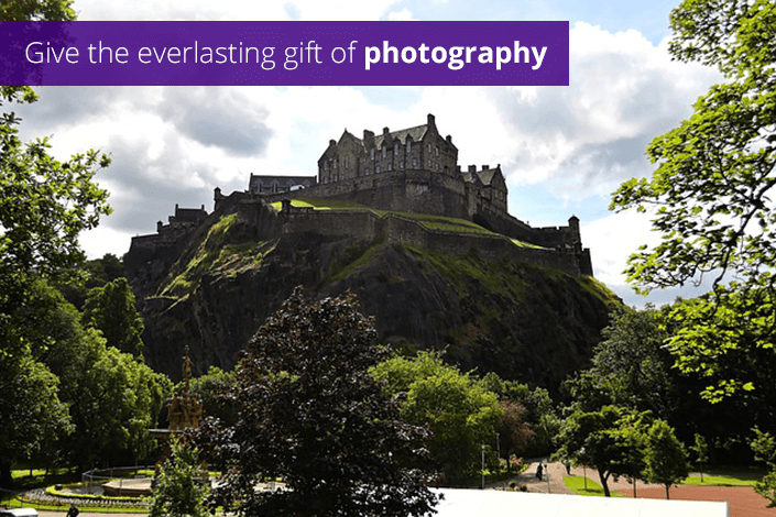 Photo of Edinburgh city centre
