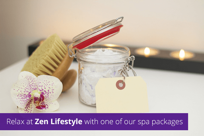 Relax at Zen Lifestyle with one of our spa packages