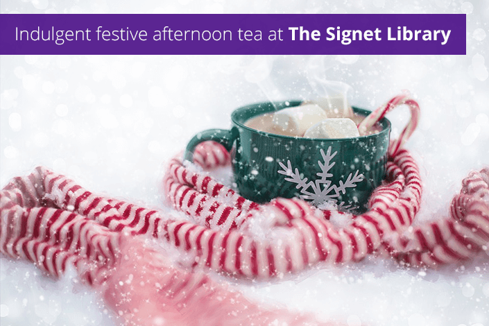 Indulgent festive afternoon tea at The Signet Library