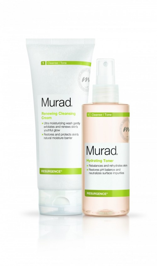 Free Toner with Murad Cleanser