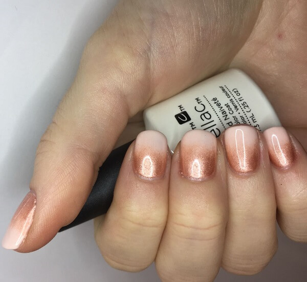 zen signature nails with Shellac
