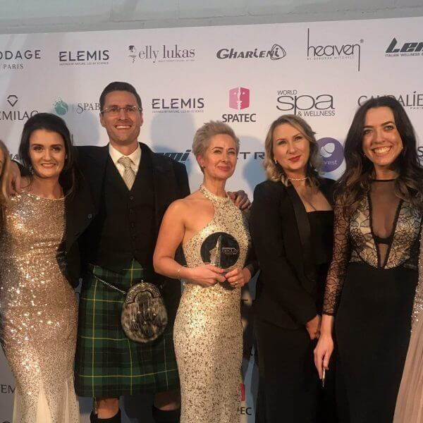 zen bruntsfield team with award