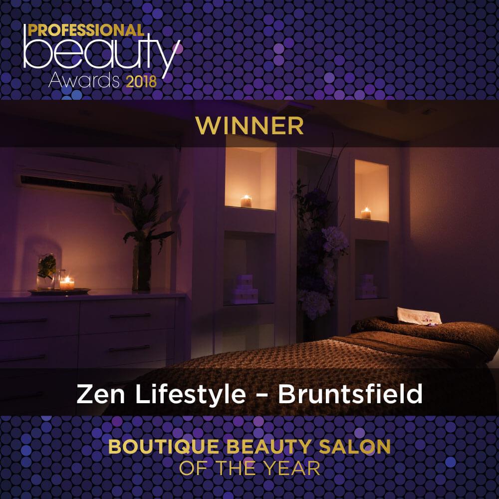 Bruntsfield Salon Award Winner 2018