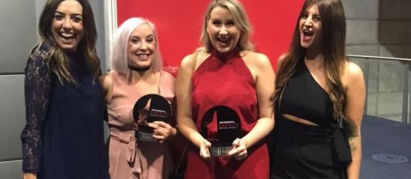 zen girls at regional awards