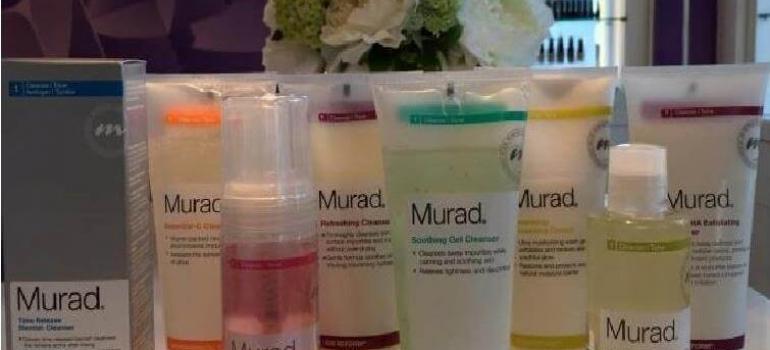 Murad's Range of Cleansers