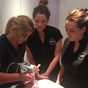 Staff training at zen - exilis