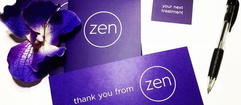 new literature with zen logo