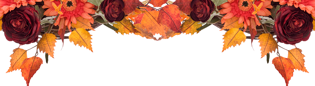 autumn leaves page header