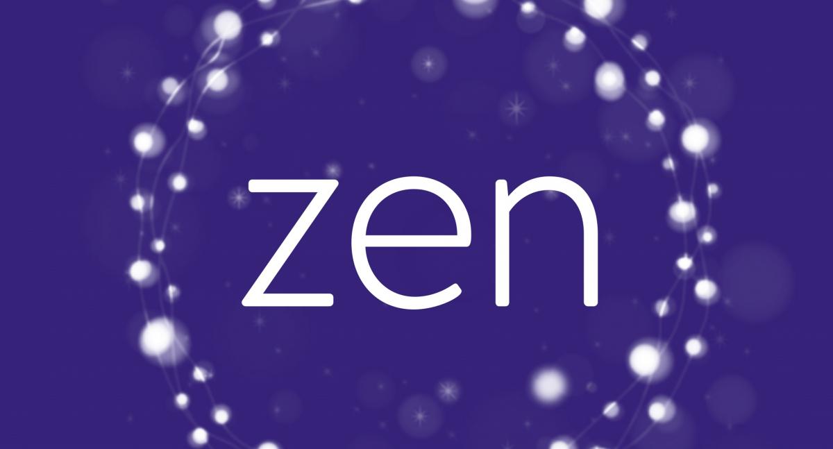 zen logo let it glow